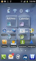 Screenshot of GlassTransparency Free Theme