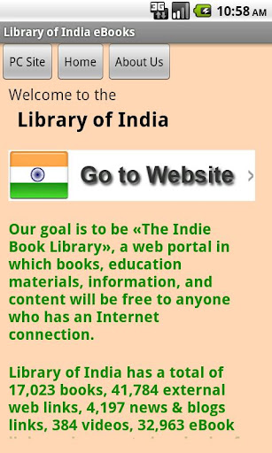Library of India eBooks