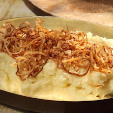 Mashed Potatoes with Crispy Fried Shallots