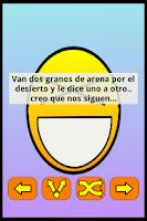 Screenshot of Chistes Cortos Buenos