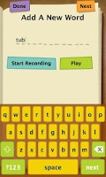 Screenshot of Spelling Test Free by FunExam