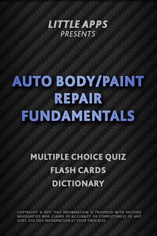 AUTO BODY REPAIR FUNDAMENTALS