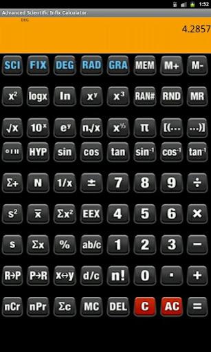 Infix Calculator Adv Sci