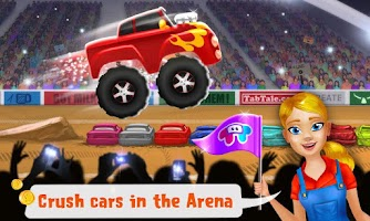 Screenshot of Mechanic Mike - Monster Truck