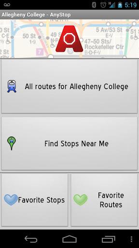 Blacksburg Transit: AnyStop