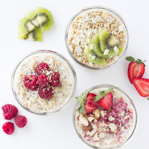 Three Types of Overnight Oats