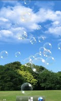 Screenshot of Soap bubble LiveWallpaper Free