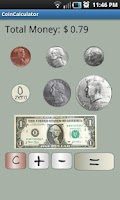 Screenshot of Coin Calculator