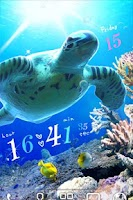 Screenshot of Sea Turtle LiveWallpaper Trial