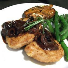 Kalamata Pork Fillet With Rosemary