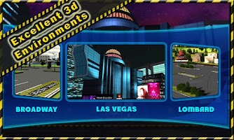 Screenshot of Limousine Parking 3D
