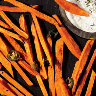 Jalapeno-Sweet Potato Fries