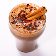 Spicy Aztec Hot Chocolate with Chili, Cinnamon, and Mezcal