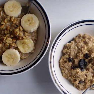 French Toast Oatmeal and Banana Nut Oatmeal