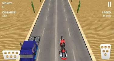 Screenshot of Moto Racing