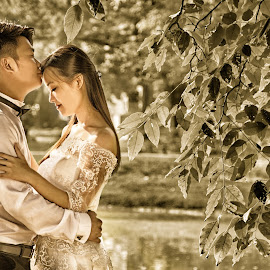 by Jikey Wee - Wedding Bride & Groom ( , Wedding, Weddings, Marriage )