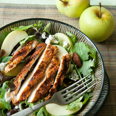 Fall-Inspired Grilled Chicken Salad