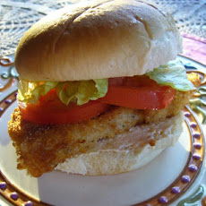 Don't Want to Go to Town Fish Sandwich Longmeadow Farm