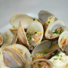 Gluten Free Clams and Mashed Potatoes
