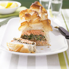 The ultimate makeover: Salmon en croûte