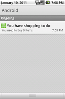 Screenshot of You've got shopping+