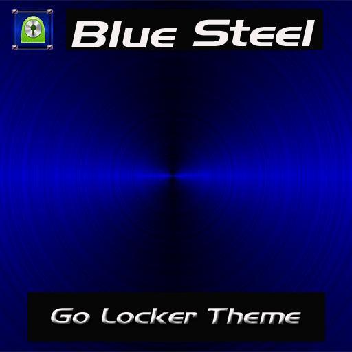 Blue Steel Go Locker Theme 個人化 App LOGO-硬是要APP