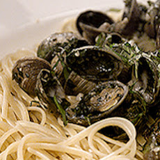 Linguine with New Zealand Cockles