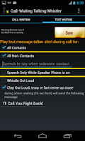 Screenshot of Call Waiting Announcer Free