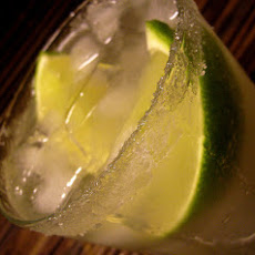 Fresh Lime and Agave Margarita