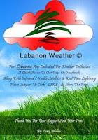 Screenshot of Lebanon Weather