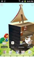 Screenshot of Rabbit Launcher 3D Home Theme