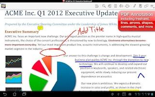 Screenshot of Quickoffice Pro HD