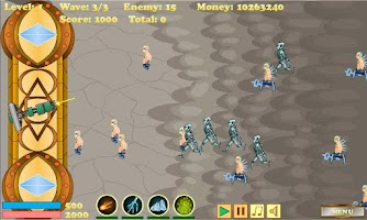 Screenshot of Cyborg Defense