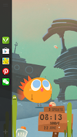 Screenshot of Hedgie's Life Live LockerTheme