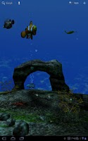 Screenshot of Ocean Aquarium 3D Wallpaper