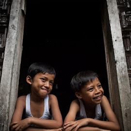 smile of joy by Heri Budianto - Babies & Children Child Portraits