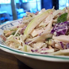 Asian Apple Slaw
