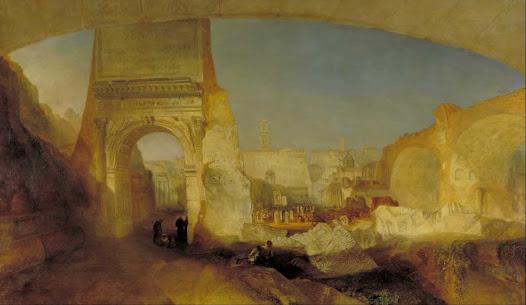 Turner Joseph, Foro romano  Luce incandescente - Egitto