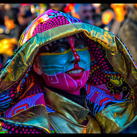 The mask by Stefano Catani - People Musicians & Entertainers (  )