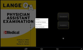 Screenshot of Physician Assistant LANGE Q&A