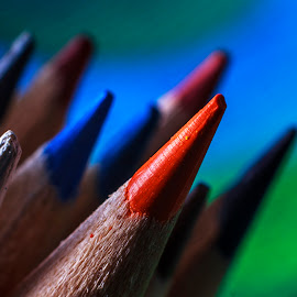 color by Marcel Varga - Artistic Objects Other Objects ( crayon, school, color, background, crayons )