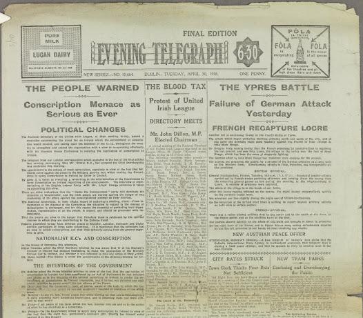 The Evening Telegraph 30 April 1918
