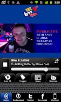 Screenshot of LMFM Radio