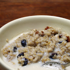 Oatmeal Raisin Cookie Oatmeal