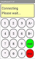 Screenshot of Galaxy Alarm VirtualKeypad