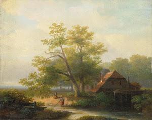 RIJKS: Lodewijk Hendrik Arends: painting 1854