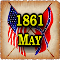 1861 May Am Civil War Gazette icon