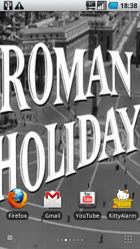 Roman Holiday LiveWallpaper