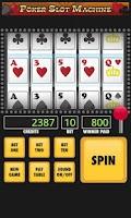 Screenshot of Poker Slot Machine
