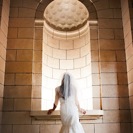 Bride by Melissa Papaj - Wedding Bride ( bridal, wedding, dress, architecture, bride,  )